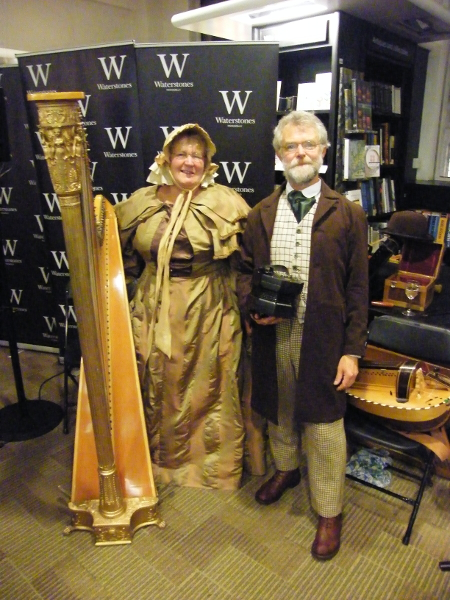 At the Waterstones Launch of 'Moriarty' Oct 2014